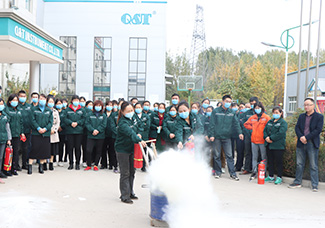 Q&T Instrument held an fire drill